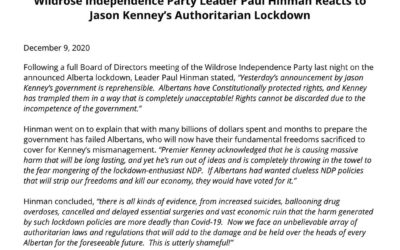 WIPA reacts to Kenny's Authoritarian Lockdown